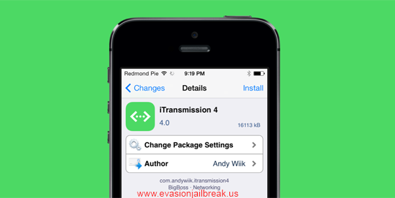 Download iTransmission 4 - Best BitTorrent Client For iOS 7 Released