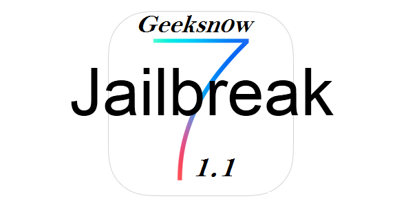 Geeksn0w 2.9 - jailbreak iOS 7.1 through iOS 7.1.1