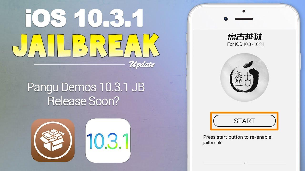 jailbreak-ios 10.3.1